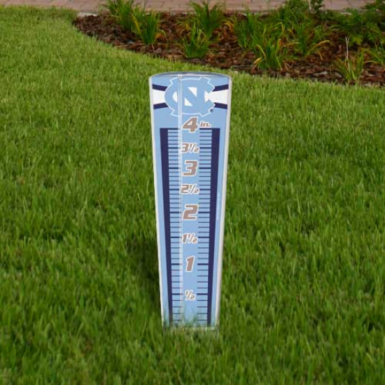 North Carolina Tar Heels (unc) Rain Gauge