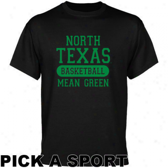 North Texas Mean Green Mourning Custom Sport T-shirt -