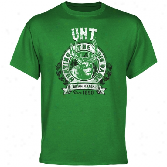 North Texas Mean Green The Big Game T-shirt - Green