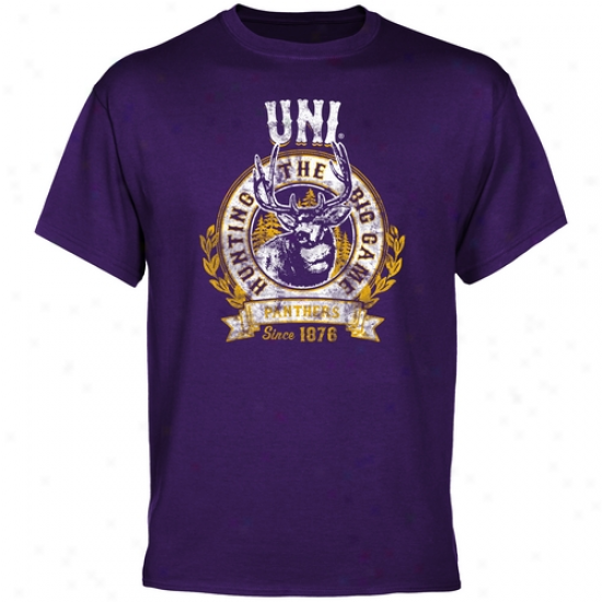 Northern Iowa Panthers The Great Game T-shirt - Purple