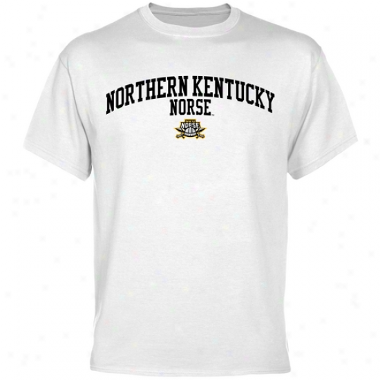 Northern Kentucky University Norse Team Chief T-shirt - White