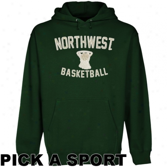 Northwet Missouri Pomp Bearcats Legacy Pullover Hoodie - Green