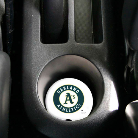 Oakland Athletics 2-pack Absorbent Car Coastera