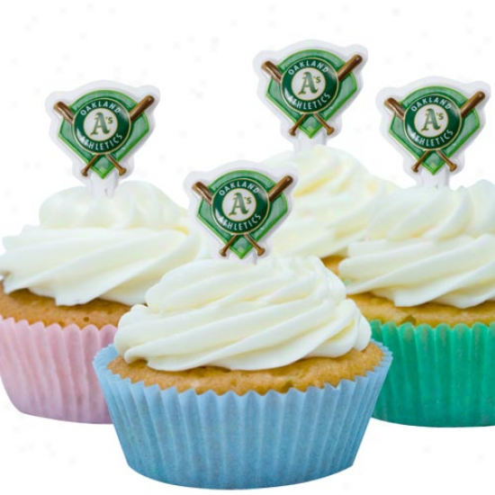 Oakland Athletics Team Logo Party Pics