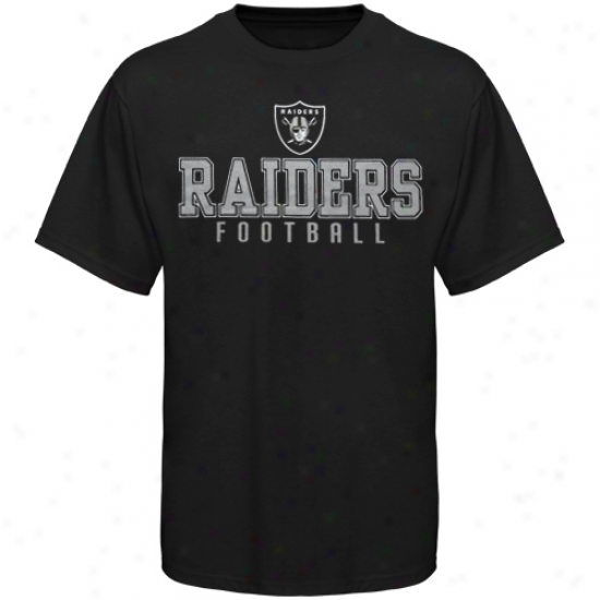 Oakland Raiders Team One T-shirt - Black