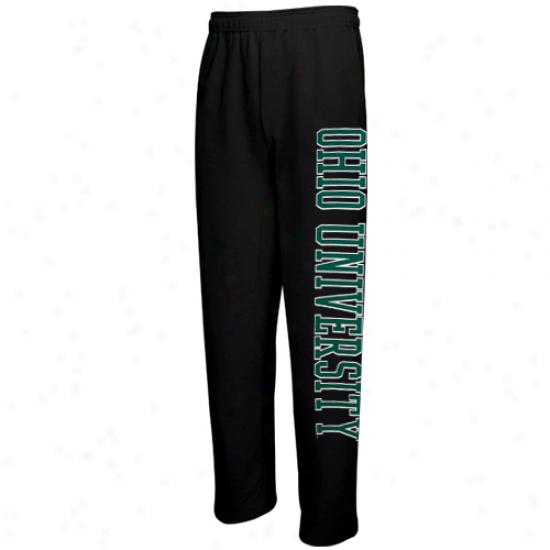 Ohio Bobcats Men's Classic Sweatpants - Black