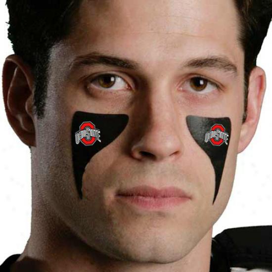 Ohio State Buckeyes 2-pack Warrior Eyeblack Strips
