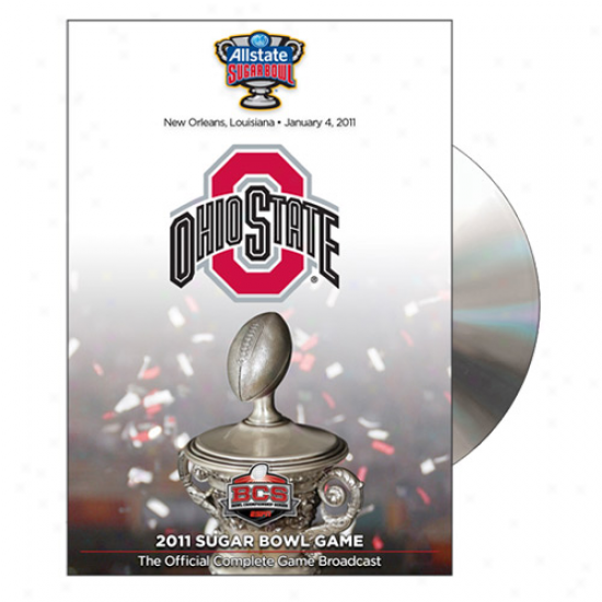 Ohio State Buckeyes 2011 Sugar Bowl Champions Official Game Dvd
