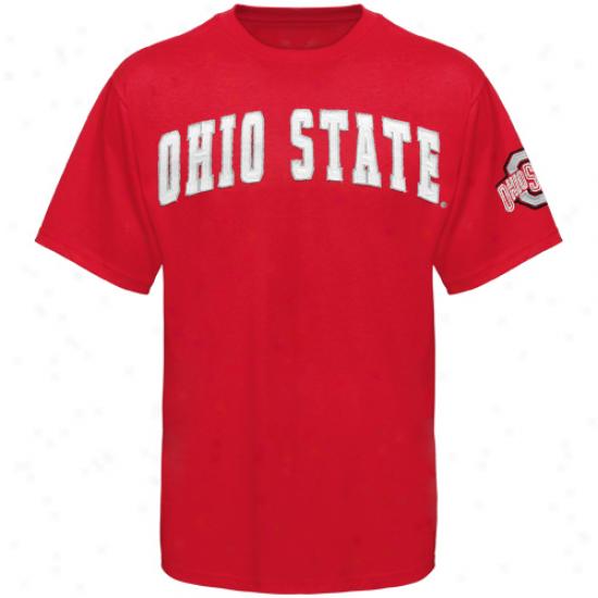 Ohio State Buckeyes Collegiate Colt Premium T-shirt - Scarlet