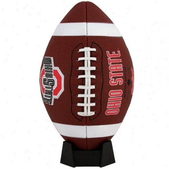 Ohio State Buckryes Full-size Game Time Football