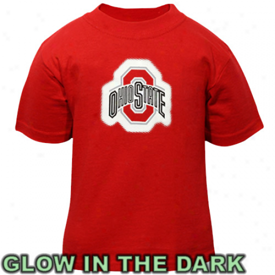 Ohio State Buckeyes Infant Glowgo T-shirt - Scalet