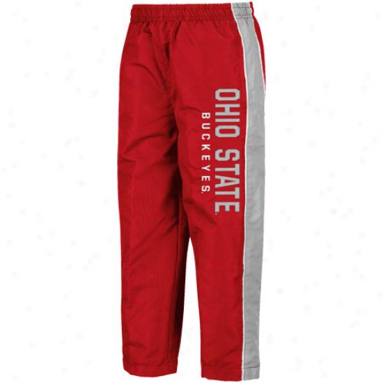 Ohio State Buckeyes Preschool Scarlet Drop Kick Pants