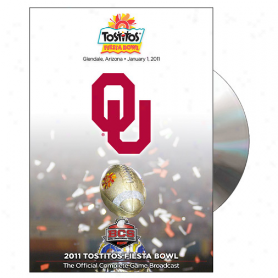 Oklahoma Sooners 2011 Fiesta Bowl Champions Official Game Dd