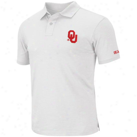 Oklahoma Sooners Choice Polo - White