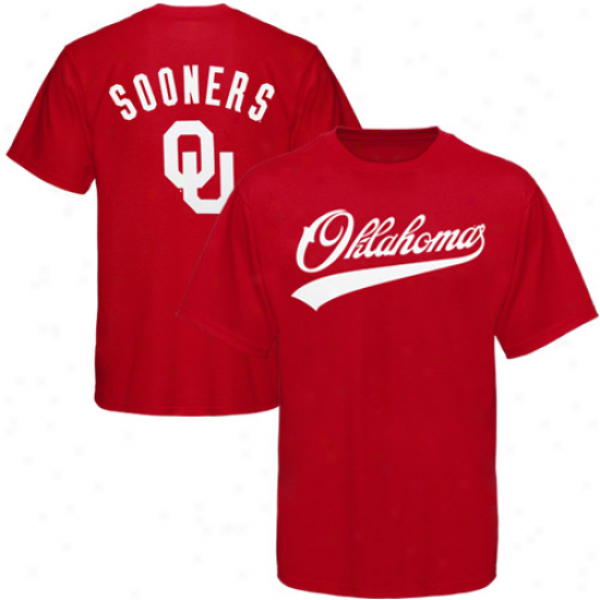 Oklahoma Sooners Crimson Blender T-shirt