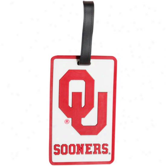 Oklahoma Sooners Soft Bag Tag