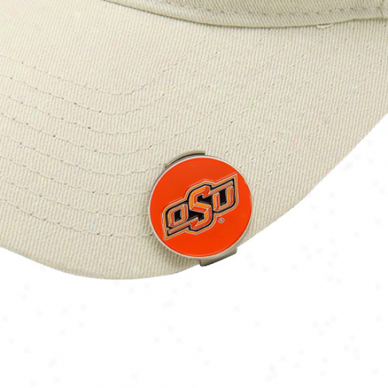 Oklahoma State Cosboys Ball Markers & Hat Clip Set