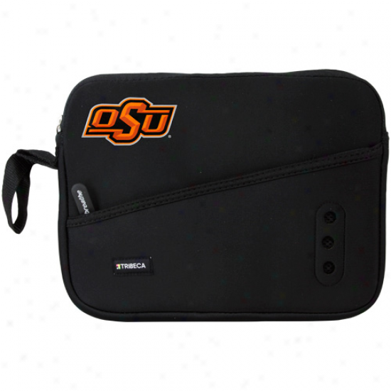 Oklahoma State Cowboys Black 10'' Netvook Breathe Sleeve