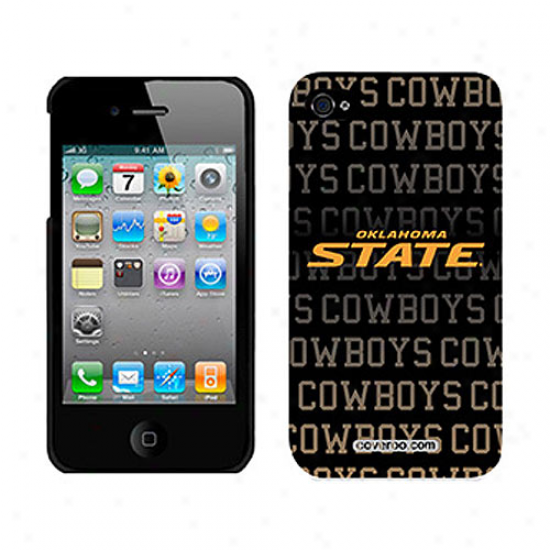 Oklahoma State Cowboys Iphone 4 Case