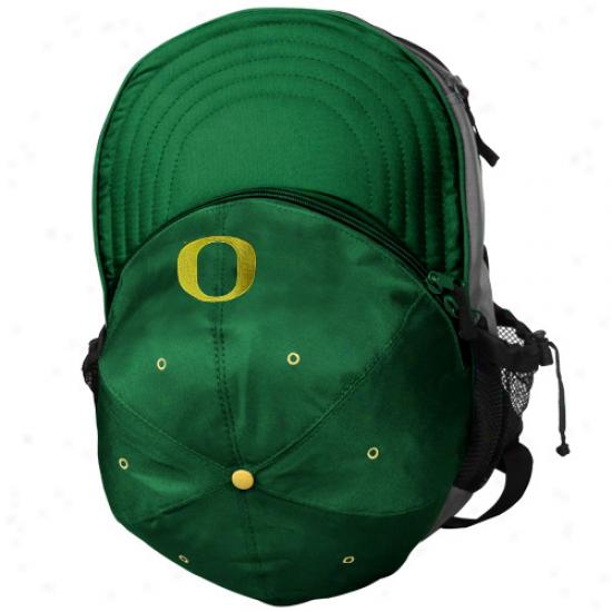 Oregon Ducks Green Cooler Hat Backpack