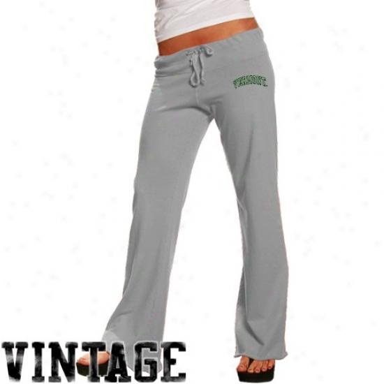 Originl Retro Brand Vermont Catamoungs Ladies Ash Logo Vintage Sweatpants