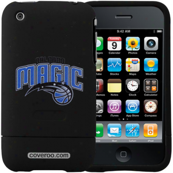 Orlando Magc Black Team Name & Logo Iphone 3g Hard Snap-on Case