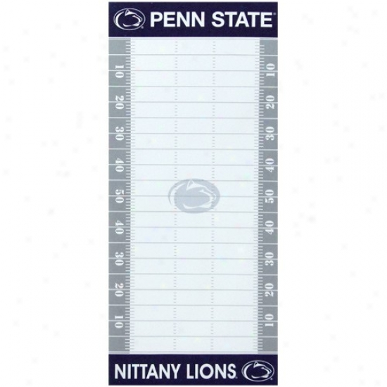 Penn State Nittany Lions Football Field To-do Register