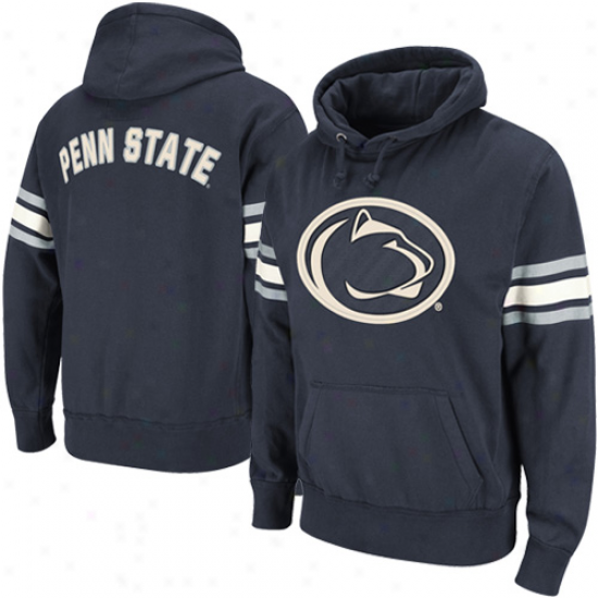 Penn State Nittany Lions Navy Blue Blindside Pullover Hoodie Sweatshirt