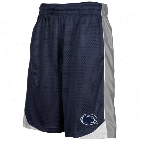 Penn State Niftany Lions Youth Navy Blue Vector Workout Shorts