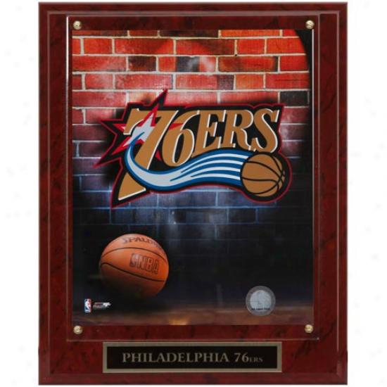 Philadelphia 76ers 10.5'' X 13'' Logo Brooch