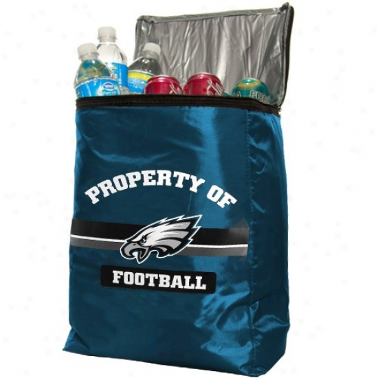 Philadelphia Eagles Green Insulated Coolsr Backpack