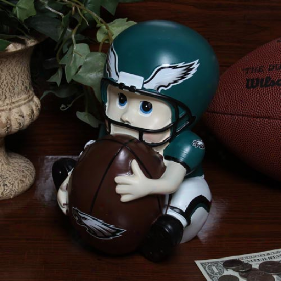 Philadelphia Eagles Kids Football Player Bank