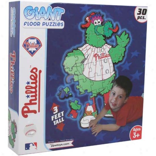 Philadelphia Phillies 30-piece 3' Giant Floor Puzzle