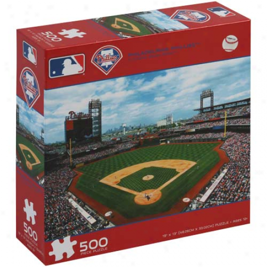 Philadelphia Phillies 500-piece Stadium Puzzle