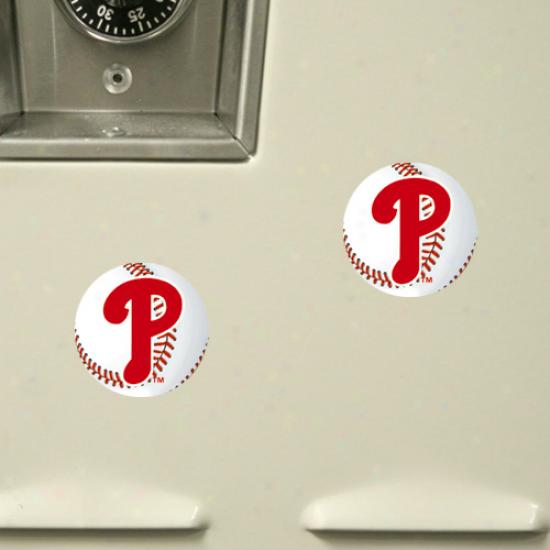 Philadelphia Phillies 6-pack Baseball Magnet Sheet