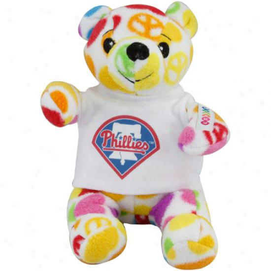 Phkladelphia Phillies 8'' Plush Hope Bear