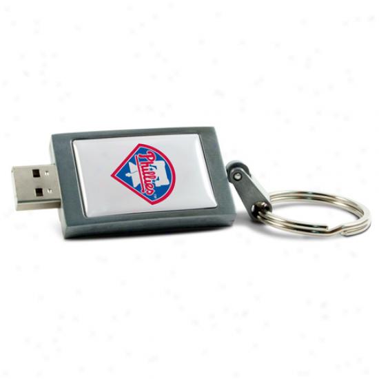 Philadelphia Phillies 8bg Usb Instant Drive Keychain