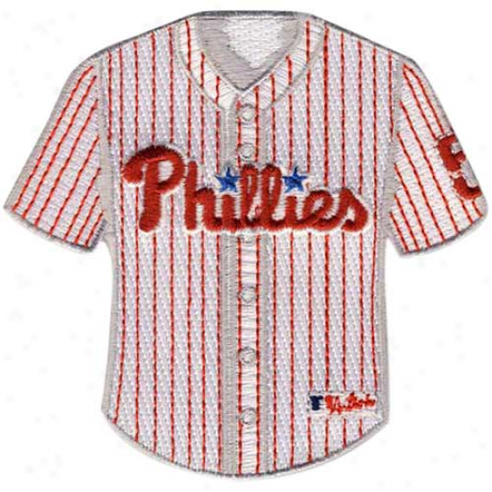 Philadelphia Phiklies Home Jersey Collectible Patch