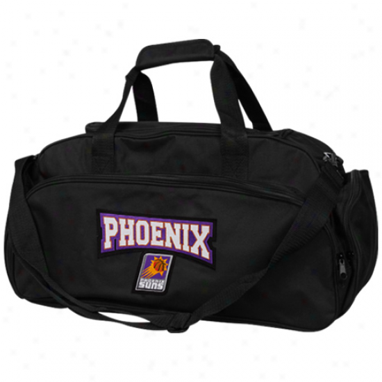 Phoenix Suns Blsck Domestic Duffel Bag