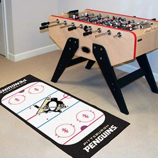 Pittsburgh Penguins Hockey Runner Mat