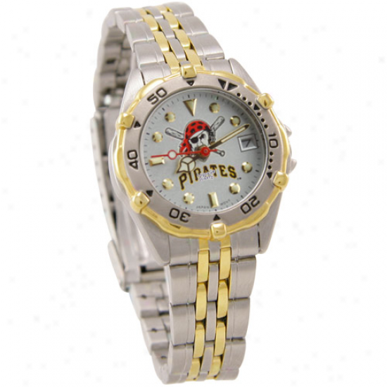 Pittsburgh Pirates Ladies Stainless Steel All-star Watch