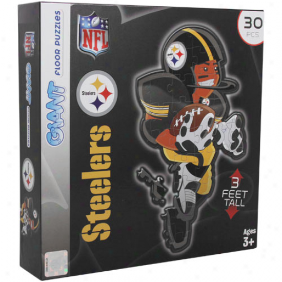 Pittsburgh Steelers 30-piece 3' Giant Floor Perplex