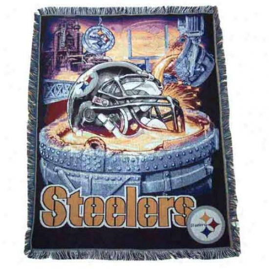 Pittsburgh Steelers Acrylic Tapestry Throw