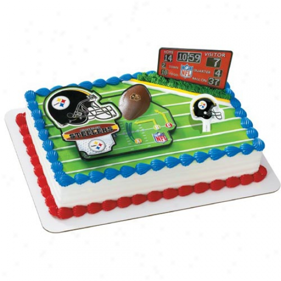 Pittsburgh Steelers Cake Decorating Kit