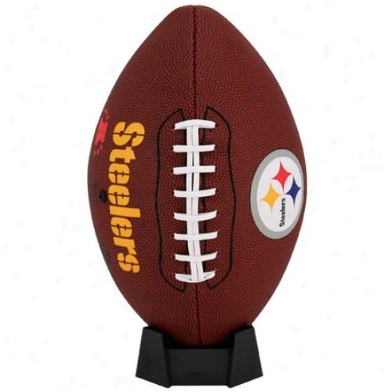 Pittsburgh Steelers Full-size Game Time Football