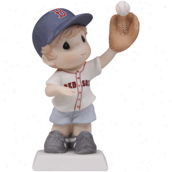 Precious Moments Boston Red Sox Boy You Get Me Caught Up Figurine