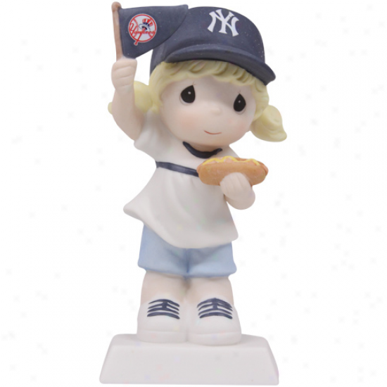 Precious Moments Recent York Yankees Girl Fan-tastic Day Figurine