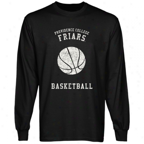 Providence Friars Club Lont Sleeve T-shirt - Black
