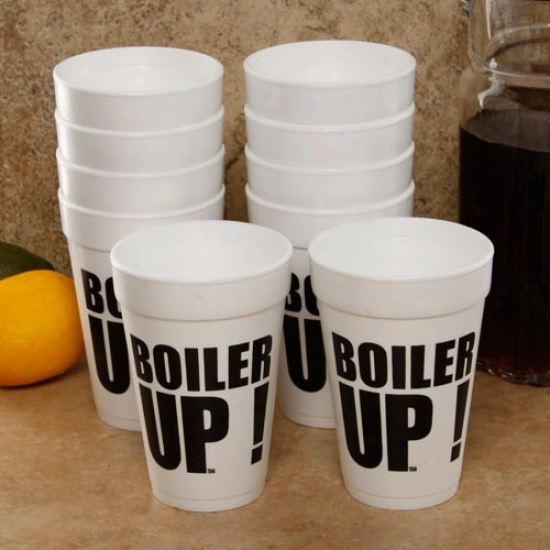 Purdue Boilermakers 10-pack 16oz. Team Slogan Foam Cups