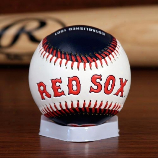 Rawlings Boston Red Sox Embroidered Home & Away Collectible Baseball -